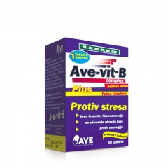 Ave Vit B Complex 60 tableta - photo ambalaze
