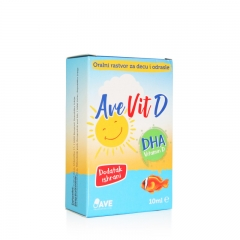 Ave Vit D 10ml - photo ambalaze
