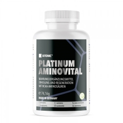 Platinum Aminovital 90 kapsula - photo ambalaze