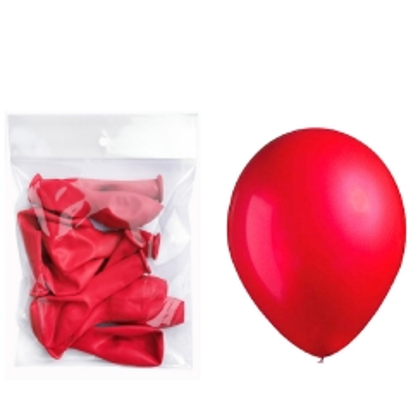 Lateks baloni crveni 10 komada - photo ambalaze