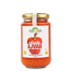 Organski ajvar 330g - photo ambalaze
