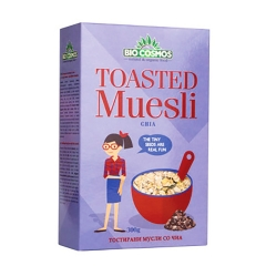 Toasted musli čia 300g - photo ambalaze