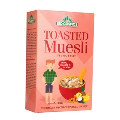 Toasted musli tropsko voće 300g - photo ambalaze
