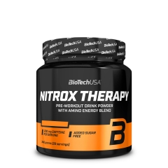Nitrox Therapy pre-workout formula breskva 340g - photo ambalaze