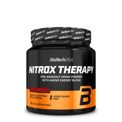 Nitrox Therapy pre-workout formula brusnica 340g - photo ambalaze