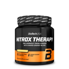 Nitrox Therapy pre-workout formula tropsko voće 340g - photo ambalaze