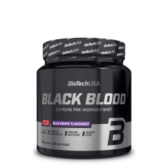 Black Blood CAF+ pre-workout formula 300g - photo ambalaze