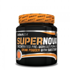 Supernova pre-workout formula breskva 282g - photo ambalaze