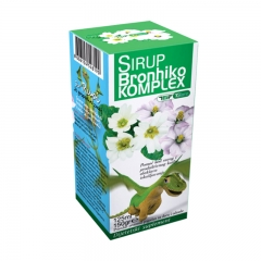 Sirup Bronhiko Kompleks 125ml - photo ambalaze