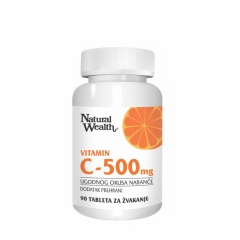 Vitamin C 500mg 90 tableta - photo ambalaze
