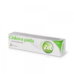 Cinkova pasta 35g - photo ambalaze