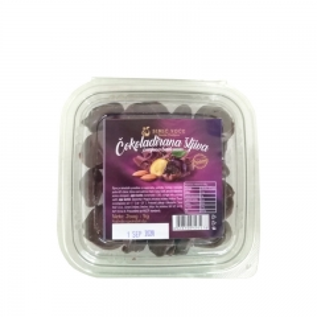 Čokoladirana suva šljiva-badem 200g - photo ambalaze