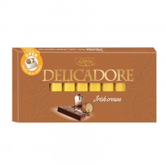 Čokolada Delicadore Irish Cream 200g - photo ambalaze