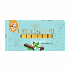 Čokolada Delicadore Mint 200g - photo ambalaze