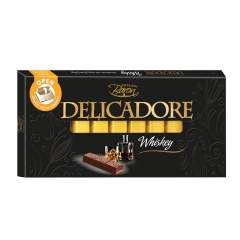 Čokolada Delicadore Whiskey 200g - photo ambalaze