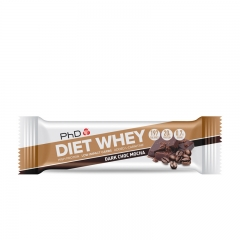 Diet Whey bar moka kafa 64g - photo ambalaze
