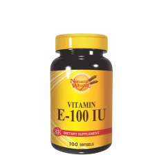 Vitamin E 100IU 100 kapsula - photo ambalaze
