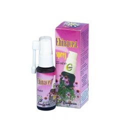Ehinacea sprej sa vitaminom C 25ml - photo ambalaze
