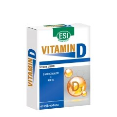 Vitamin D 200IU 60 tableta - photo ambalaze