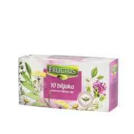 Everyday čaj 10 biljaka 20 kesica - photo ambalaze