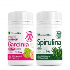 Garcinia Cambogia + Spirulina 200 tableta - photo ambalaze