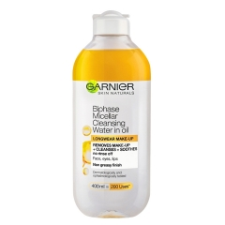 Skin Naturals dvofazna micelarna voda 400ml - photo ambalaze