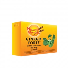Ginkgo Forte 62mg 72 tablete - photo ambalaze