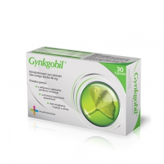 Gynkgobil 40mg 30 kapsula - photo ambalaze