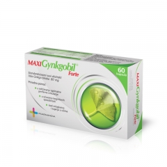 Gynkgobil Maxi Forte 80mg 60 kapsula - photo ambalaze