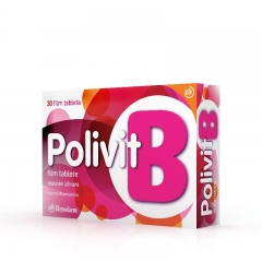 Polivit B vitamini 30 tableta - photo ambalaze