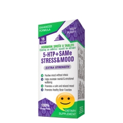 Stress&Mood 5-HTP + SAMe 15 kapsula - photo ambalaze