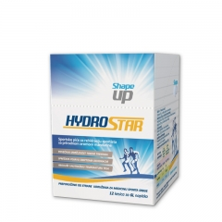 Hydrostar prašak 12 kesica - photo ambalaze