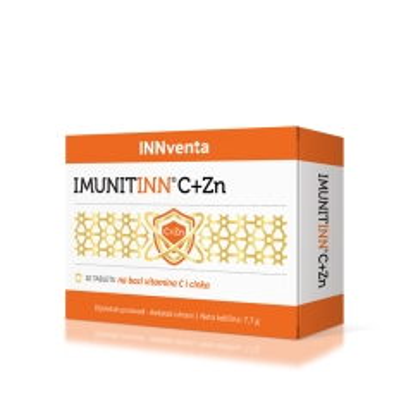 Imunitinn C+Zn 10 tableta - photo ambalaze