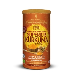 Superior kurkuma u prahu 150g - photo ambalaze