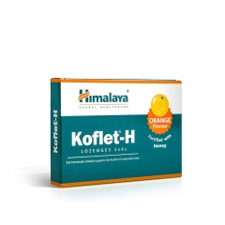 Koflet-H pomorandža 12 lozengi - photo ambalaze