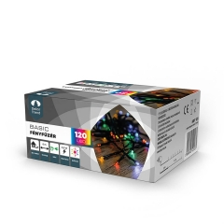 LED lampice višebojne 120 komada - photo ambalaze