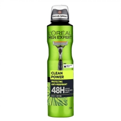 Men Expert Clean Power dezodorans 250ml - photo ambalaze