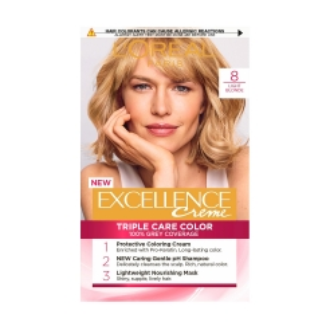 Paris Excellence farba za kosu 8 - photo ambalaze