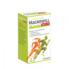 Magnewill Mg 375 + B6 30 kapsula - photo ambalaze