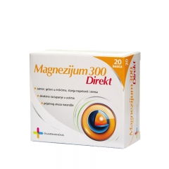 Magnezijum 300 Direkt - photo ambalaze