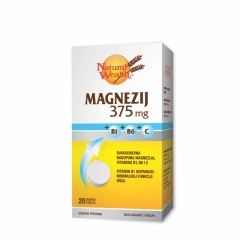 Natural Wealth Magnesium 375 - photo ambalaze