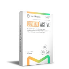 Devital Active 400IU 100 tableta - photo ambalaze
