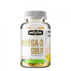 Omega 3 Gold 120 kapsula - photo ambalaze