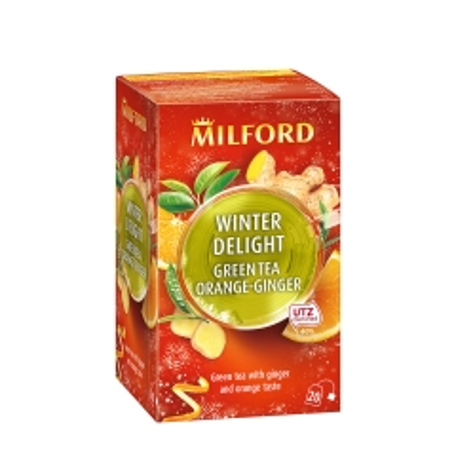 Zeleni čaj đumbir-pomorandža 20 kesica - photo ambalaze