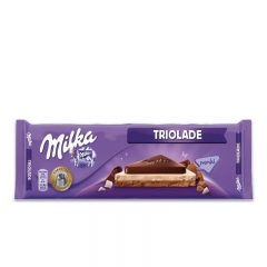 Milka Triolade - photo ambalaze