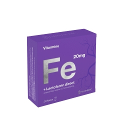 Vitamin Fe + Lacoferrin 20 kesica - photo ambalaze