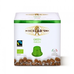 Purezza Green 10 Nescafe Nespresso kompatibilnih kapsula - photo ambalaze