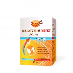 Magnezijum direkt 375mg 20 kesica - photo ambalaze