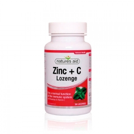 Cink i vitamin C za imunitet 30 lozengi - photo ambalaze