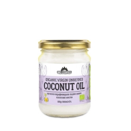 Organsko hladno ceđeno kokosovo ulje 180g - photo ambalaze